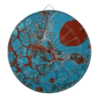 Blue Dartboard
