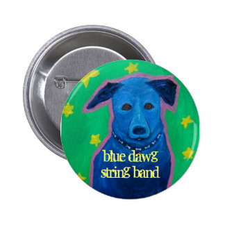 blue dawg string band button