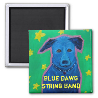 Blue Dawg String Band Magnet