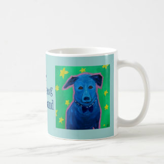 blue dawg string band mug