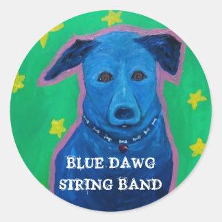 BLUE DAWG STRING BAND Sticker