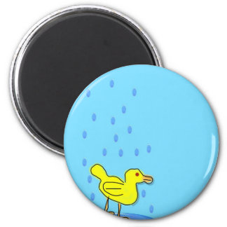 Blue day Duckling Magnet