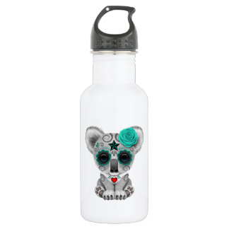 Blue Day of the Dead Baby Koala 532 Ml Water Bottle