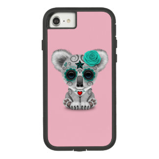 Blue Day of the Dead Baby Koala Case-Mate Tough Extreme iPhone 8/7 Case