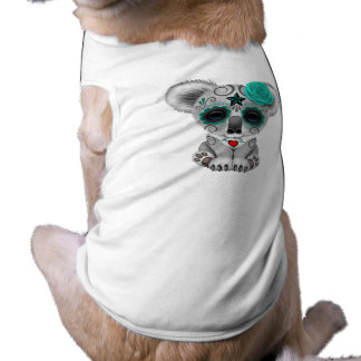 Blue Day of the Dead Baby Koala Shirt