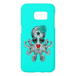 Blue Day of the Dead Baby Octopus