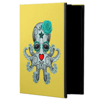 Blue Day of the Dead Baby Octopus Powis iPad Air 2 Case