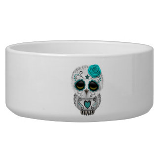 Blue Day of the Dead Baby Owl
