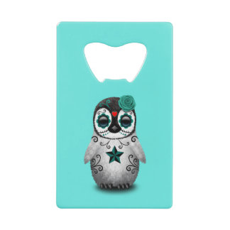 Blue Day of the Dead Baby Penguin