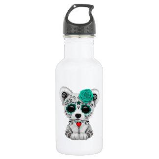 Blue Day of the Dead Baby Polar Bear 532 Ml Water Bottle