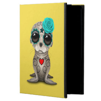 Blue Day of the Dead Baby Sea Lion Powis iPad Air 2 Case