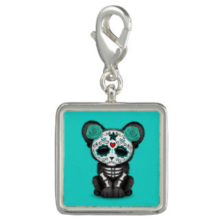 Blue Day of the Dead Black Panther Cub