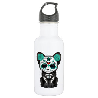 Blue Day of the Dead Black Panther Cub 532 Ml Water Bottle