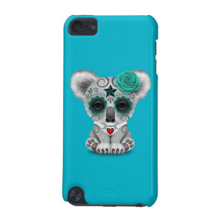 Blue Day of the Dead Sugar Skull Baby Koala iPod Touch 5G Case