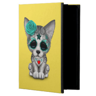 Blue Day of the Dead Wolf Cub Powis iPad Air 2 Case