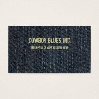 Blue Denim Business Card