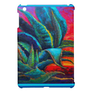 BLUE DESERT AGAVE RED DAWN DESIGN CASE FOR THE iPad MINI