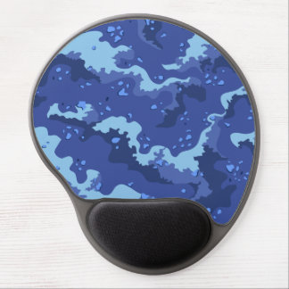 Blue Desert Camo Gel Computer Mousepad Gel Mouse Pads