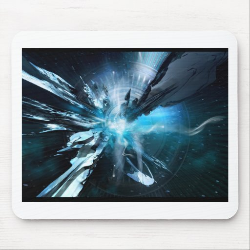 Blue Design Collection Mouse Pads