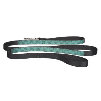 Blue Design Standard Size Dog Leash Black