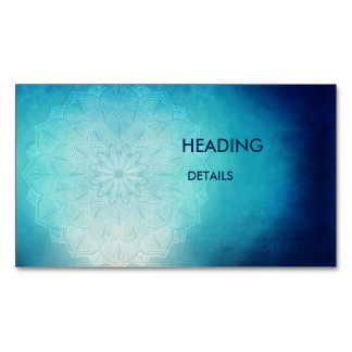 blue desire magnetic business cards