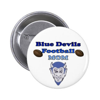 Blue Devils Football Mum Pin
