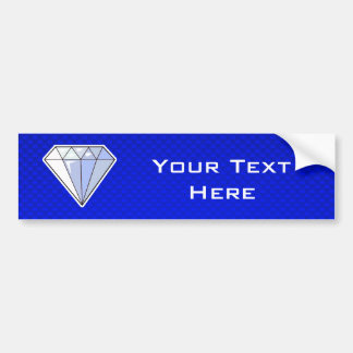 Blue Diamond Bumper Sticker