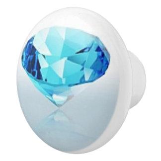 BLUE DIAMOND CERAMIC KNOB