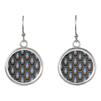Blue Diamond Fashion Earrings by Julie Everhart