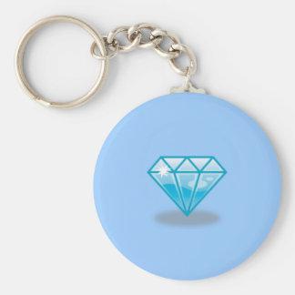 Blue Diamond Key Chain