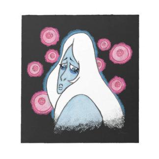 Blue Diamond Notepad