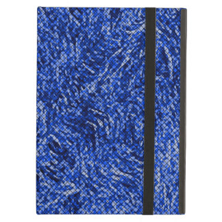 Blue Diamond Stained Glass Style iPad Air Cases