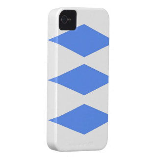 Blue Diamond theme iPhone 4 Case-Mate Cases