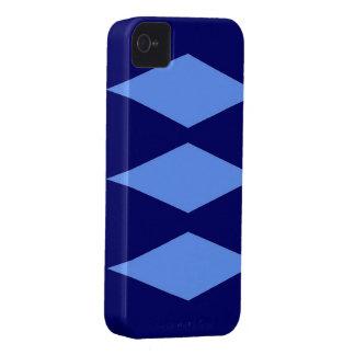 Blue Diamond theme Case-Mate iPhone 4 Cases