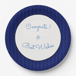 Blue-Diamond_Thread's_Congrats-Wishes-TEMPLATE Paper Plate