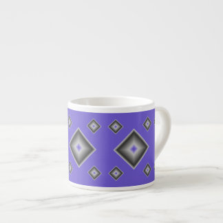 Blue Diamonds Espresso Mug by Janz
