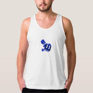 Blue dice tank