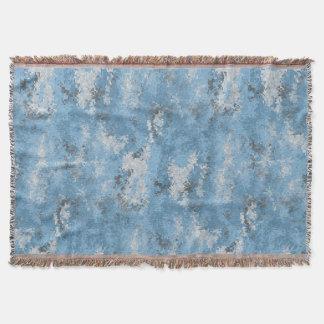 Blue Digi Camo Throw Blanket