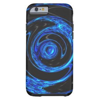 Blue Digital Art Case Tough iPhone 6 Case