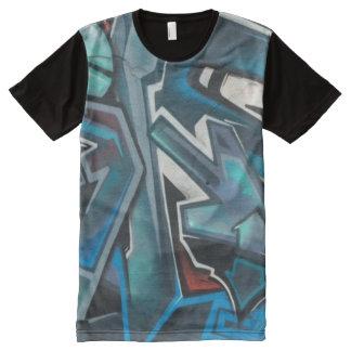 Blue Dimension design All-Over Print T-Shirt