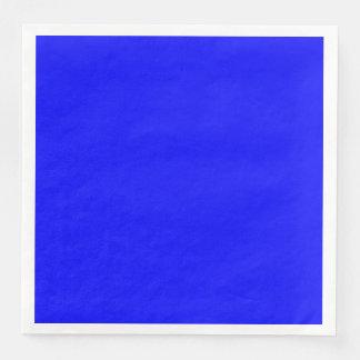 Blue Dinner Paper Napkin