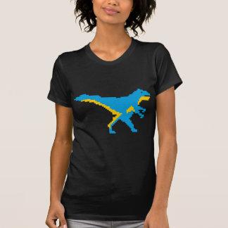 Blue Dinosaur Dino Design T-Shirt
