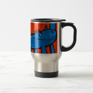 Blue Dinosaur Travel Mug