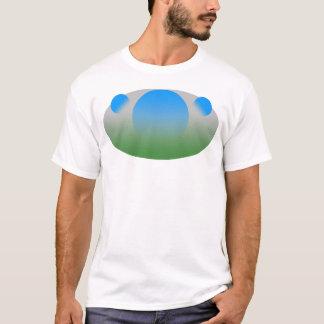 Blue Disks Minimalist Shirt