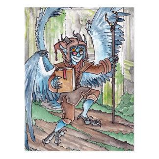 Blue Djinni Postcard