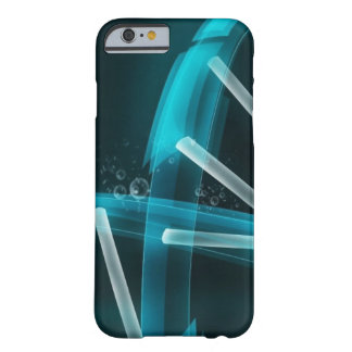 Blue DNA Strand of Evolution Barely There iPhone 6 Case