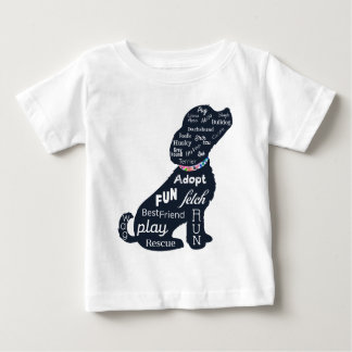 Blue Dog Baby T-Shirt