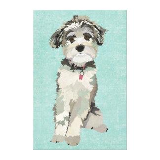 Blue Dog Canvas Gallery Wrap Canvas