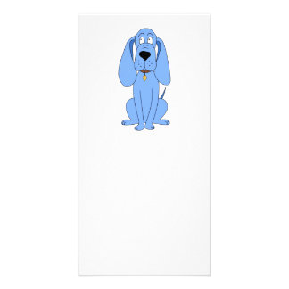 Blue Dog. Hound. Picture Card