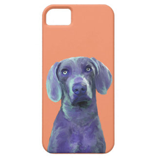 blue dog iPhone 5 cover